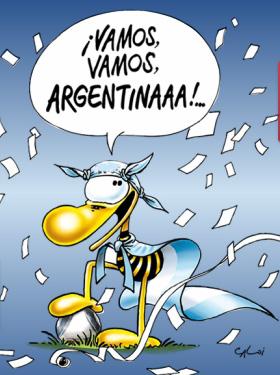 vamos vamos argentina de Caloi