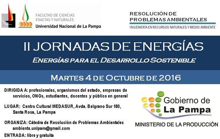 II JORNADAS DE ENERGÍAS