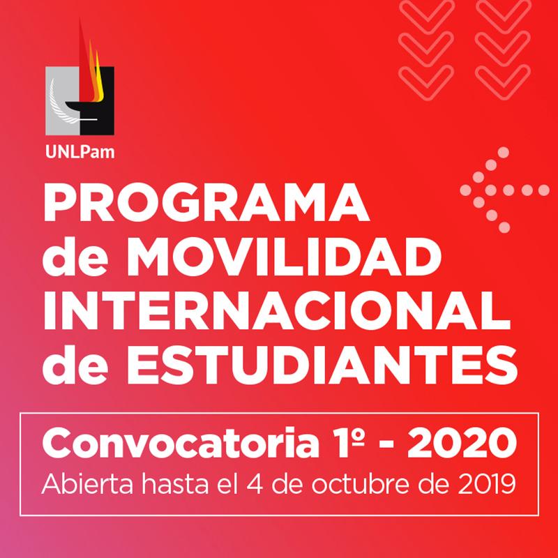 cartel convocatoria del Programa de Movilidad Estudiantil