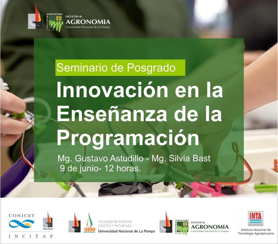 Seminario de Posgrado.   Innovación en la Enseñanza de la Programación
