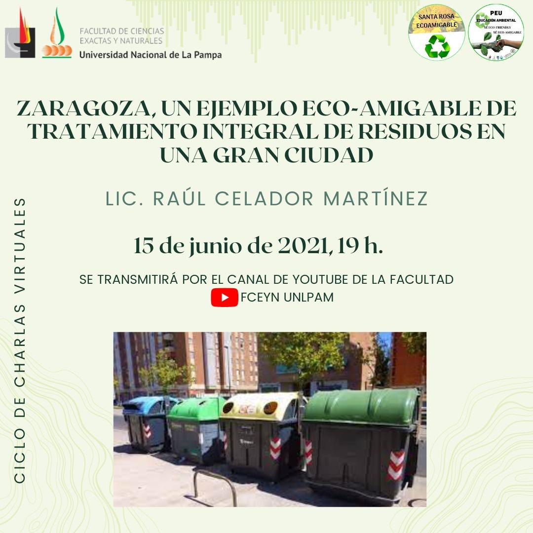 Charla organizada por el Proyecto de Extensión Educación Ambiental