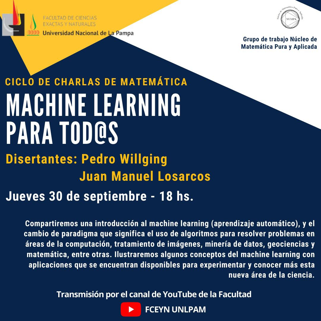 Machine learning para tod@s